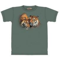 "Футболка The Mountain ""Tiger Cuddle"" (детская)"