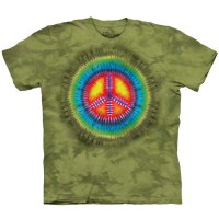 "Футболка The Mountain ""Peace Tie Dye"" (детская)"