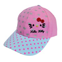 """Кепка для девочки """"Hello Kitty"""" -09"""