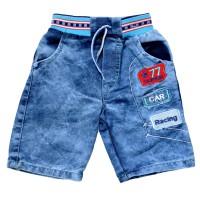 """Шорты джинсовые для мальчика """"Car Racing 77"""""""