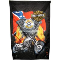 Флаг конфедерации байкеров Harley-Davidson