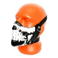 Маска на лицо кожаная -11