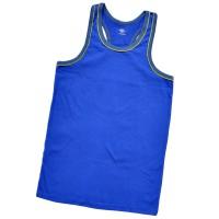 Майка-борцовка мужская (синяя)