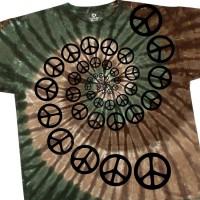 """Футболка """"Spiral Peace"""" (США)"""