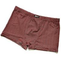 "Трусы мужские ""Мелкие крестики"" (red)"
