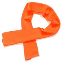Шарфик детский (неоново-оранжевый)