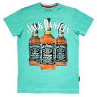 """Футболка """"Jack Daniels"""" (turquoise)"""