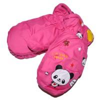 """Варежки детские """"Panda"""" (pink)"""