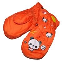 "Варежки детские ""Panda"" (orange)"