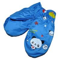 """Варежки детские """"Panda"""" (blue)"""
