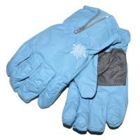 """Перчатки детские """"Снежинка"""" (l-blue)"""