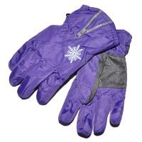 """Перчатки детские """"Снежинка"""" (purple)"""