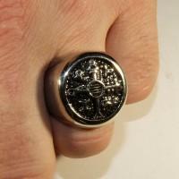 """Кольцо-печатка """"Магический символ"""""""