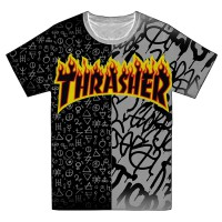 "Футболка ""Trhrasher"" -08 (опт под заказ)"