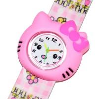 "Часы детские, настоящие ""Hello Kitty"" -01"