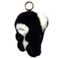 """Меховой брелок """"Мишка"""" 18 см на сумку -04"""