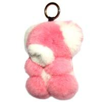 """Меховой брелок """"Мишка"""" 18 см на сумку -06"""