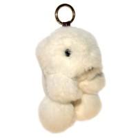 """Меховой брелок """"Мишка"""" 18 см на сумку -09"""