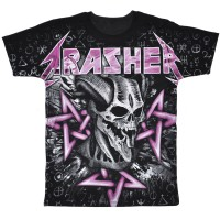 "Футболка Trasher ""Skull"""