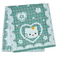 "Полотенце детское ""Hello Kitty"" (green)"