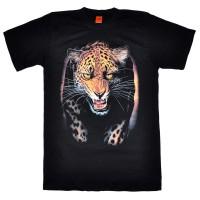 "Футболка ""Бегущий леопард"""