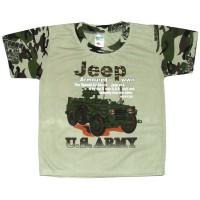 "Футболка для мальчика ""Армейская"" (Jeep)"