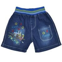 """Шорты джинсовые для мальчика """"Huohongma"""" -1"""