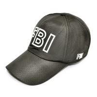 """Бейсболка осенняя """"FBI"""" (gray)"""