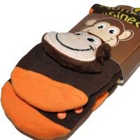 """Носки подростковые с игрушкой """"Monkey Busines"""""""