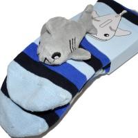 """Носки подростковые с игрушкой """"Dolphin"""""""