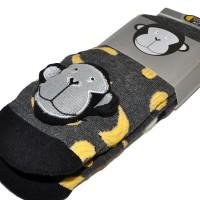 """Носки подростковые с игрушкой """"Bananas"""""""