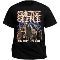 """Футболка """"Suicide Silence (you only live once)"""""""