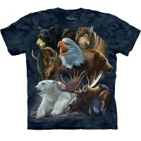 "Футболка ""Wild Alaskan Collage"""