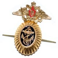 Кокарда ВМФ РФ Адмиралов с гербом РФ