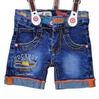 """Шорты джинсовые для мальчика """"Rockboy"""""""