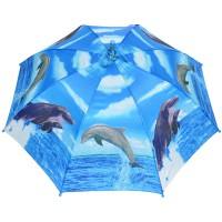 """Зонт детский """"Стая дельфинов"""""""
