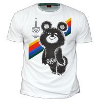 """Футболка """"Олимпийский мишка (Москва 1980)"""""""