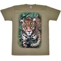 """Футболка """"Леопард (джунгли)"""""""