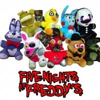 "Набор мягких игрушек ""Five Nights at Freddys"", 9 шт."