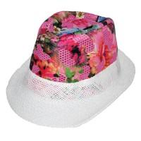 """Шляпа детская """"Цветы"""" -01"""