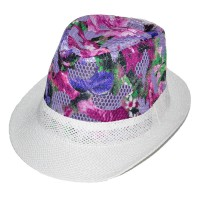 """Шляпа детская """"Цветы"""" -02"""