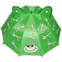 "Зонт детский ""Лягушки"" с ушками"