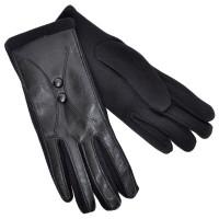 Перчатки женские, комбинированные -02
