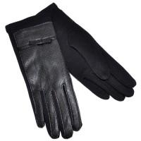 Перчатки женские, комбинированные -16