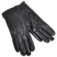 Перчатки женские, натуральная кожа -02