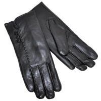 Перчатки женские, натуральная кожа -03
