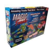 """Игровой набор """"Magic tracks"""" (301 деталей+колесо, перекресток, мост)"""