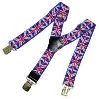 "Подтяжки ""Британский флаг"" (3)"