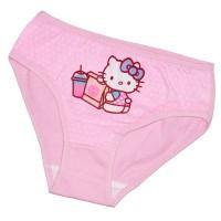 "Трусы детские ""Hello Kitty and food"" для девочки"