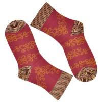 """Носки женские """"Kawaii"""" (Floral pattern) комплект 2 пары"""